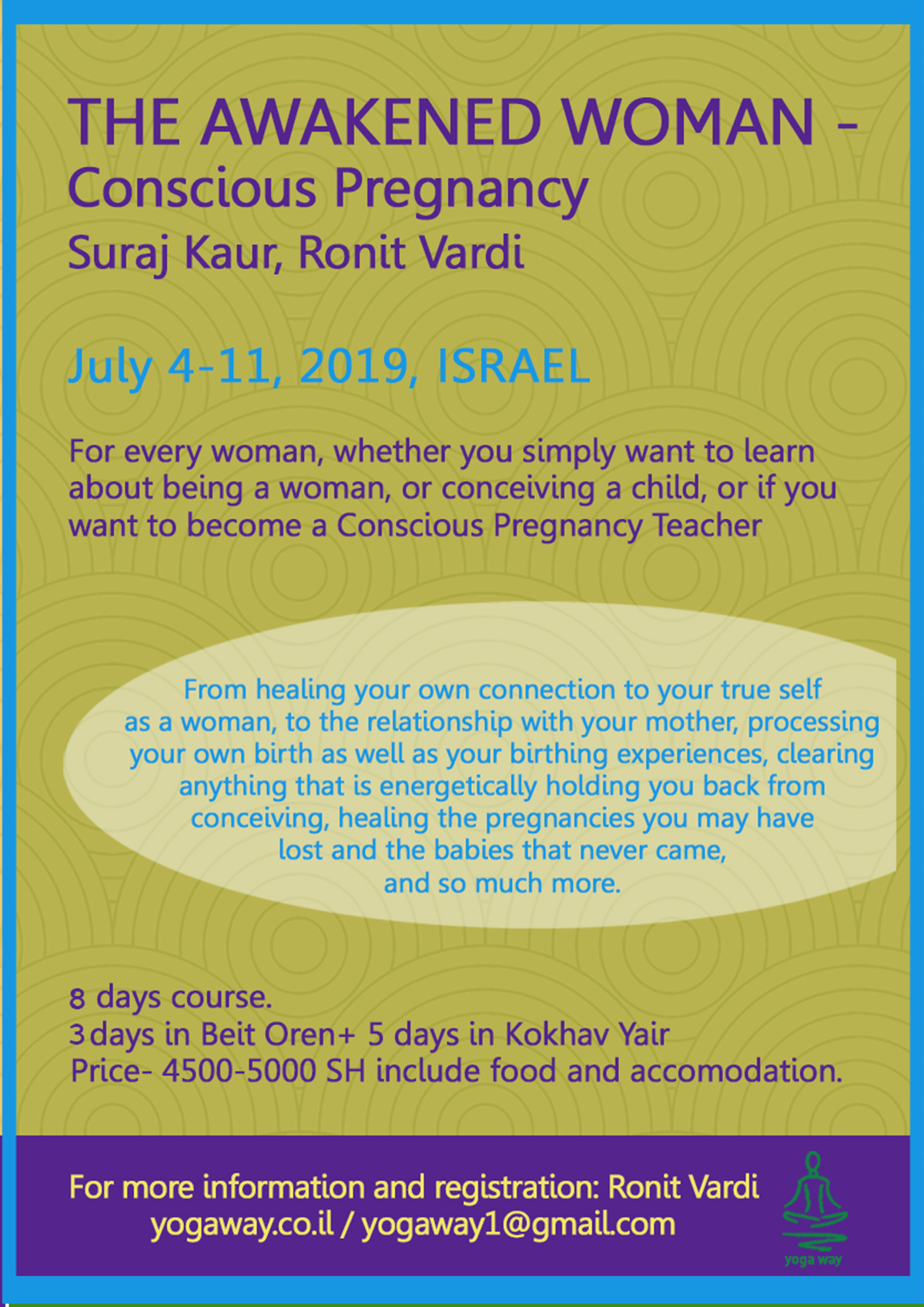 Woman's Camp-Israel-July | Kundalini Yoga Asia
